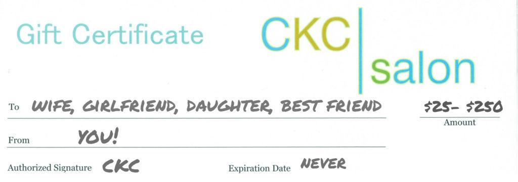 CKC Gift Certificates
